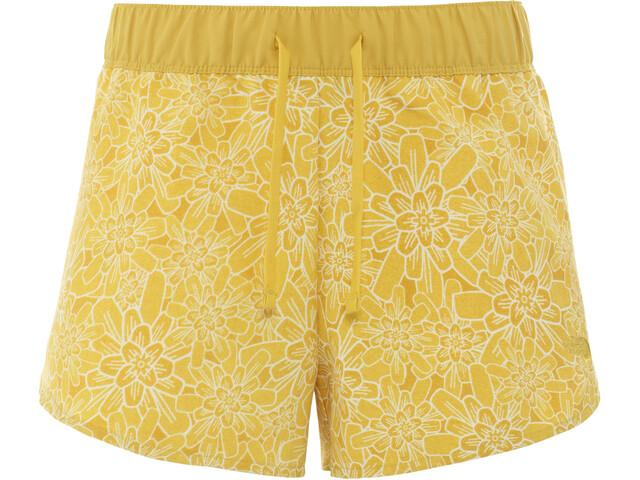 The North Face Class V Mini Shorts Dames, bamboo yellow/floral block print